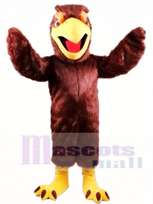 Hawk Falcon Mascot Costume
