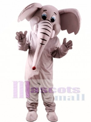 Cartoon Elephant Mascot Costume