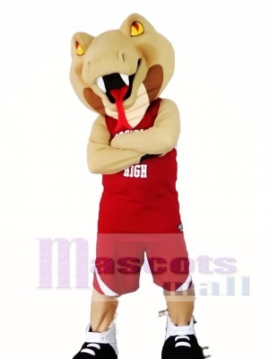 Cee-Cee The Cobra Snake Mascot Costume