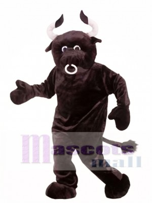 Adult Plush Bull Mascot Costume