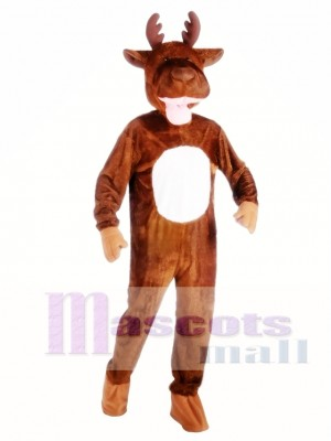 High Quality Moose Mascot Costume