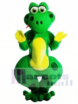 Friendly Froggles Frog Mascot Costume