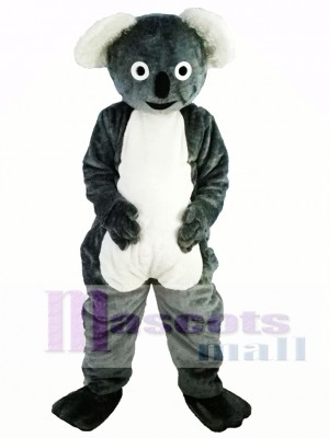 Cute Gray Koala Mascot Costume