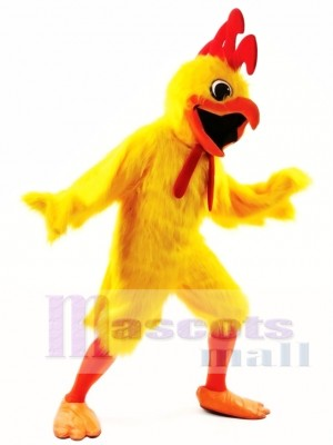 Singer Chicken Mascot Costume