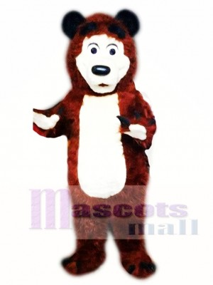 Bear Mascot Costume Adult Character Costume