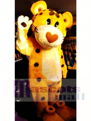 Cute Cheetah Mascot Costume