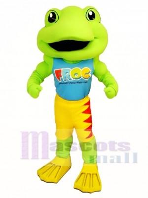 Power Frog Mascot Costume