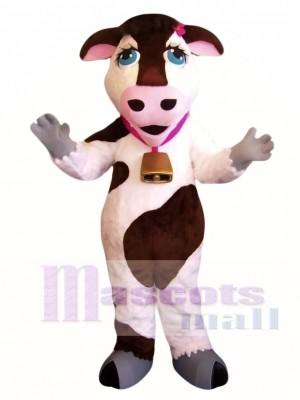 Cute Cow Mascot Costume