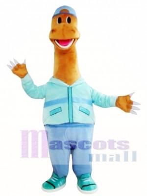 Happy Dinosaur Mascot Costume