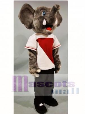 Happy Elephant Mascot Costume