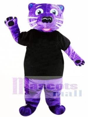 Purple Panther Mascot Costume Animal Costume for Adult