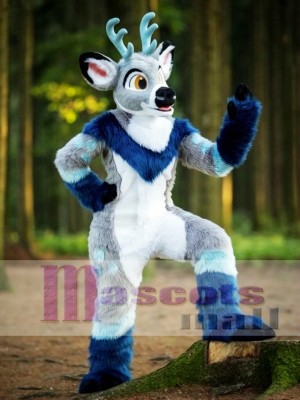 Lovely Cartoon Deer Adult Mascot Costume Christmas