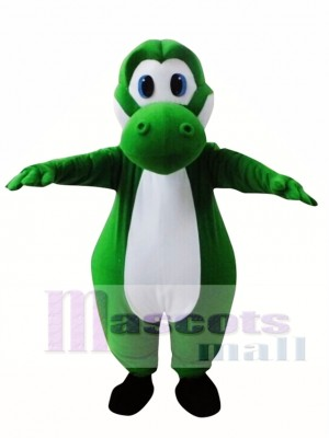Super Mario Yoshi Plush Dragon Mascot Costume