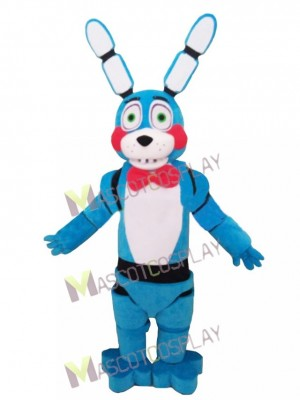 FNAF Five Nights At Freddy's Blue Bonnie the Bunny Mascot Costume