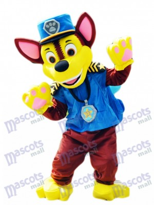 Hot Sale Paw Patrol Chase Dog Mascot German Shepherd Puppy Spy Dog Costume