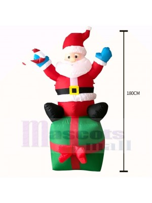 inflatable Decoration, costume,inflatable, Decoration, Christmas,Santa Claus