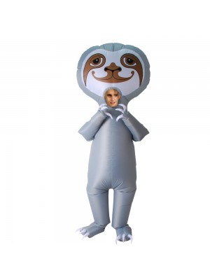 Cute Sloth Inflatable Costume Halloween Christmas Costume for Adult/Kid