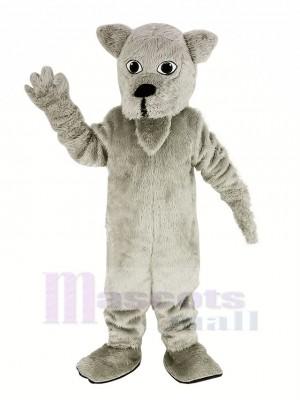 Hairy White Scottie Dog Mascot Costume Animal
