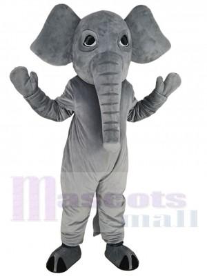 Mighty Grey Elephant Mascot Costume Animal