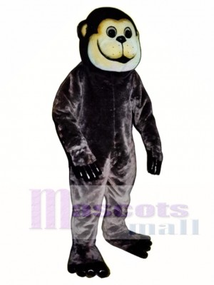 Brown Ape Mascot Costume Animal
