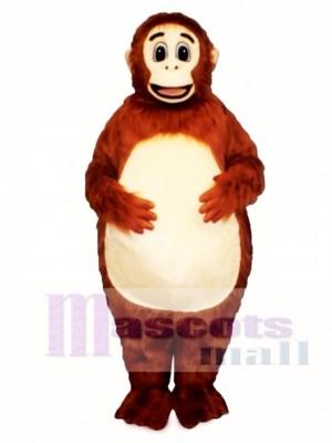 Fatso Orangutan Mascot Costume Animal