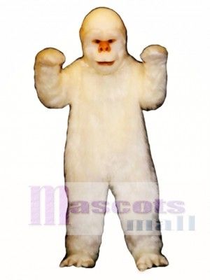 Abominable Snowman Mascot Costume Animal