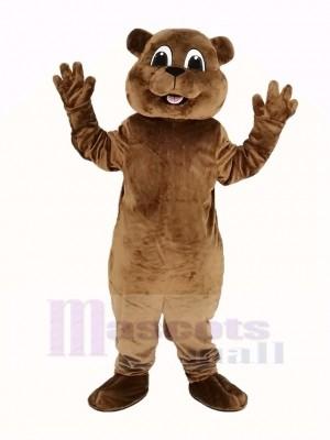 Woody Woodchuck Mascot Costume Animal