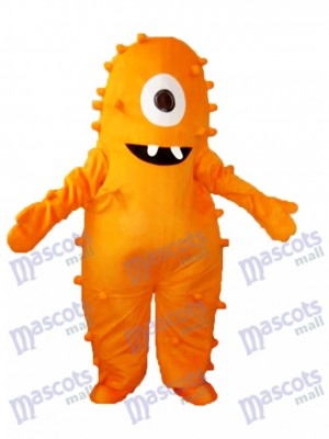 Yo Gabba Gabba Yellow Muno Mascot Adult Costume Cartoon Anime