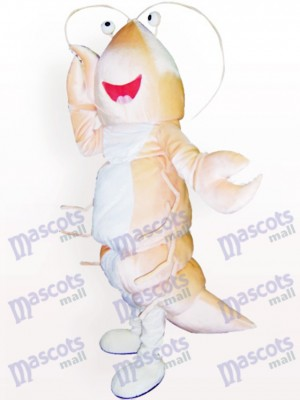 Shrimp Cartoon Adult Mascot Costume