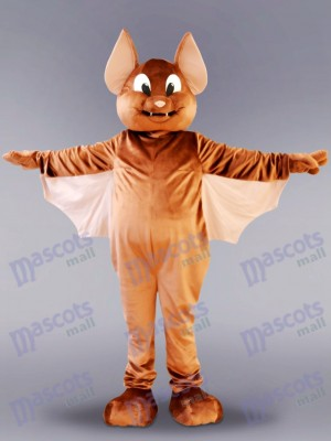Brown Flying Bat Mascot Costume Animal
