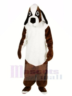 Brown and White Beagle Dog Mascot Costumes Animal