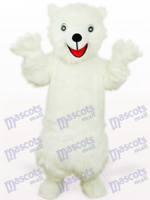 White Polar Bear Animal Mascot Costume