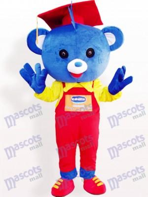 Doctor Bear Animal Adult Mascot Costume