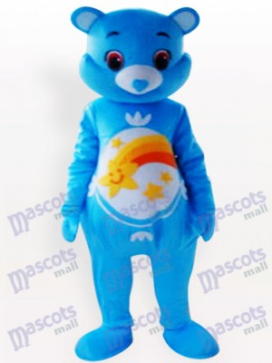 Blue Bear Animal Mascot Costume