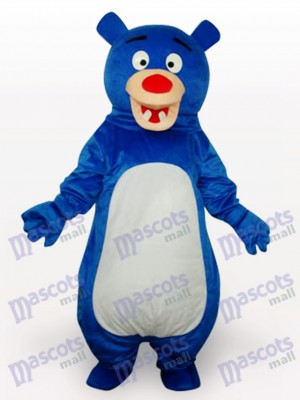 Blue Bear Anime Mascot Funny Costume