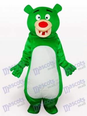 Green Bear Anime Mascot Funny Costume