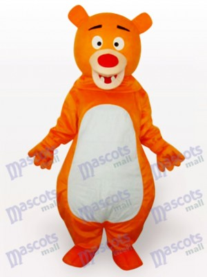 Yellow Bear Anime Mascot Funny Costume