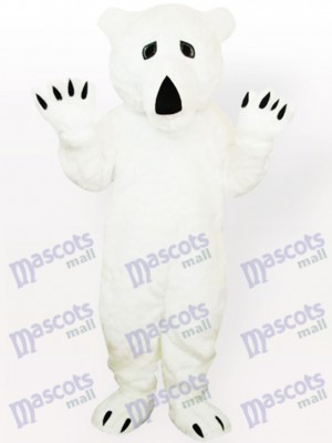 Animal Polar Bear Adult Mascot Costume