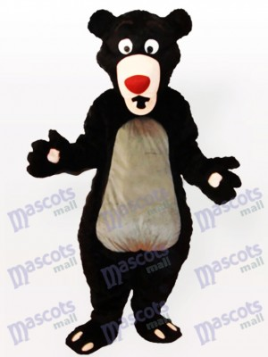 Obese Cartoon Moon Bear Anime Mascot Costume