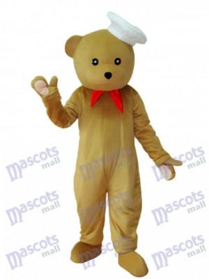 Chef Bear Mascot Adult Costume Animal