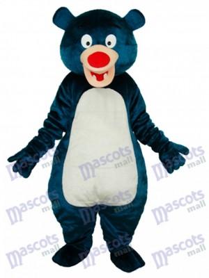 Blue Bear Mascot Adult Costume Animal
