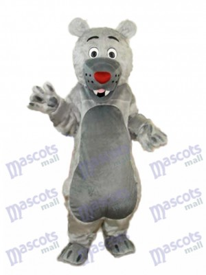 Gray Mouth Bear Mascot Adult Costume Animal