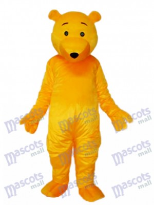 Yellow Bear Mascot Adult Costume Animal