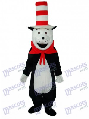 Bear with The Strange Cap Mascot Adult Costume Animal