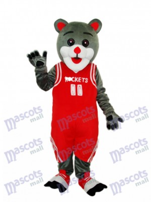 Houston Rockets Bear Mascot Adult Costume Animal