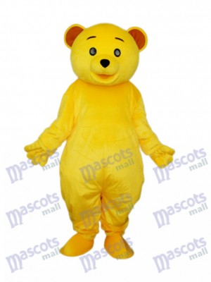 Yellow Teddy Bear Mascot Adult Costume Animal