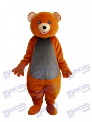 Brown Teddy Bear Mascot Adult Costume Animal