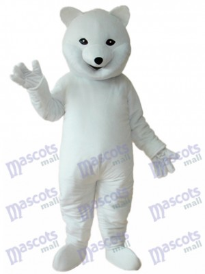Polar Bear Mascot Adult Costume Animal