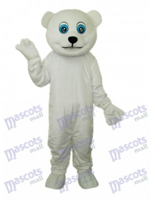 Little Polar Bear Mascot Adult Costume Animal