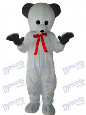 Polar White Bear Mascot Adult Costume Animal